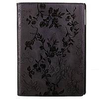 Чохол-книжка Apple iPad Air TTX (360 градусів) BLACK Flowers Чорний