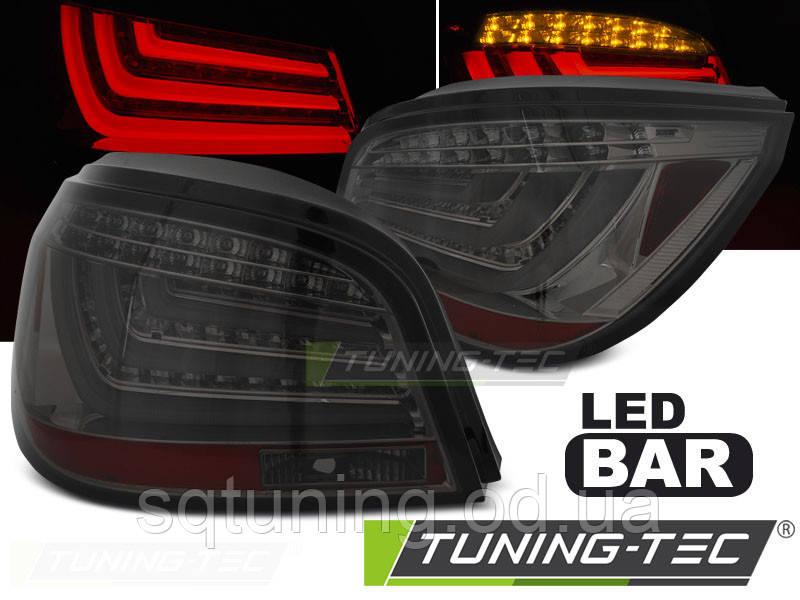 Задние фонари BMW E60 07.03-02.07 SMOKE LED BAR
