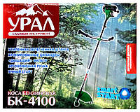Коса бензиновая Урал БК-4100    (2 ножа (40Т победит., 3Т), 1 катушка)