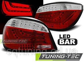 Задние фонари BMW E60 07.03-02.07 RED WHITE LED BAR