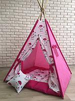 Вигвам детская игровая палатка «Слоник с зонтиком»