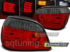 Задние фонари BMW E60 07.03-07 RED SMOKE LED