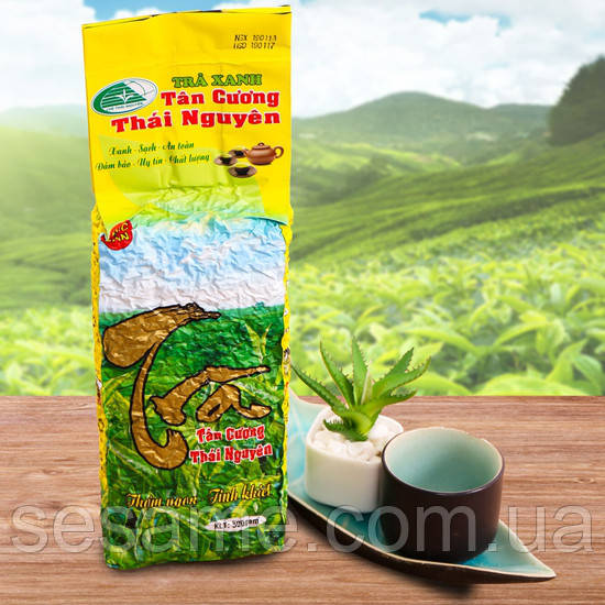Вьетнамский Зеленый чай Premium  Tra Xanh Dac San Thai Nguyen 500г. (Вьетнам)