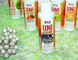 Жидкость для снятия гель-лака Nila Uni-Cleaner (ежевика) 100 мл.