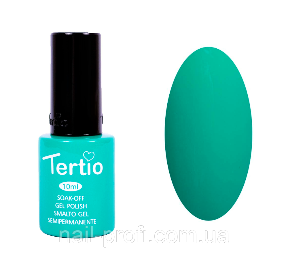 Гель-лак Tertio №27 темно-зеленый