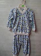 Детская пижама тоненькая трикотаж