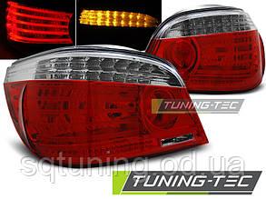Задние фонари BMW E60 07.03-07 RED WHITE LED