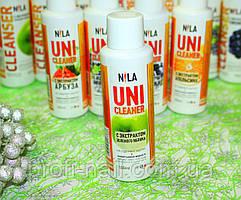 Жидкость для снятия гель-лака Nila Uni-Cleaner (зеленое яблоко) 100 мл.