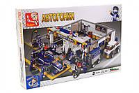 Конструктор «Автогонки» гараж M38-B0356