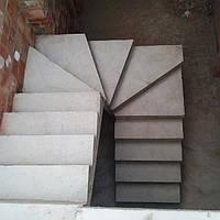 Лестницы винтовые —  ступенька больше 1-го метра