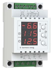 Терморегулятор для систем сніготанення Terneo sneg з датчиком опадів