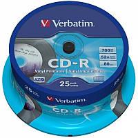 Диски Verbatim CD-R 700Mb Vinil