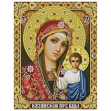 Алмазна вишивка Казанська ікона