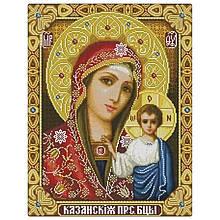 Алмазная вышивка Казанская икона