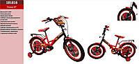 Велосипед 2-х колес 18'' 181816 ТАЧКИ со звонком,зеркалом,руч.тормоз,без доп.колес