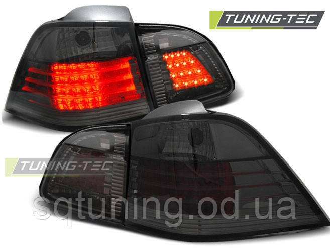 Задние фонари BMW E61 04-03.07 TOURING SMOKE LED