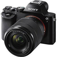 Цифр. фотокамера Sony Alpha 7 + об`єктив 28-70 KIT black (ILCE7KB.RU2)