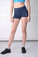 Женские шорты Reebok 0709-2 синие код 018 Б