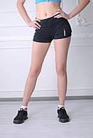 Женские шорты Reebok 0709-1 черные код 015 Б