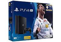Ігрова консоль SONY PlayStation 4 Pro 1Tb Black (FIFA 18/ PS+14Day) (9914464)