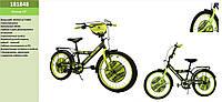 Велосипед 2-х колес World of Tanks 18'' 181848со звонком,зеркалом,руч. тормоз