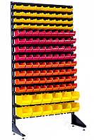 Односторонний стеллаж с ящиками для метизов 1800 мм Угледар