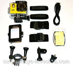 Екшн камера 4K H9/H9R wi-fi Ultra HD 1080P