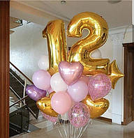 Букет из шаров на день рождения