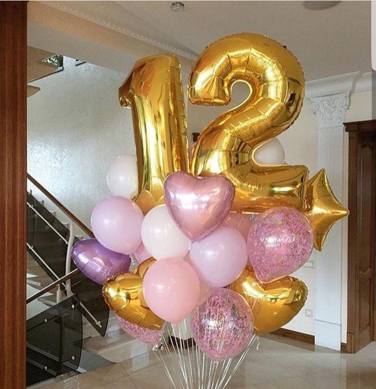 Букет из шаров на день рождения  в Днепре