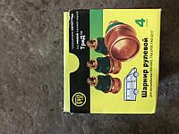 Шарнир рулевой тяги(пальцы) Газель, газ 3302, 2705 ТРИД (комплект), фото 1