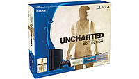 Sony PlayStation 4 (PS4) 500GB + Uncharted (1215A B01X UNC)
