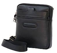 Мужская кожаная сумка-мессенджер Black Diamond BD16v2A