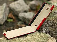 Чехол-Книжка для Nokia X2 Tetded красный