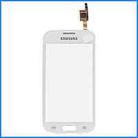 Тачскрин (сенсор) для Samsung S7390 Galaxy Trend, белый, оригинал