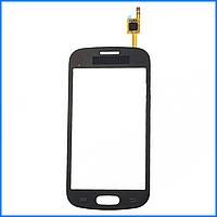 Тачскрин (сенсор) для Samsung S7390 Galaxy Trend, черный, оригинал