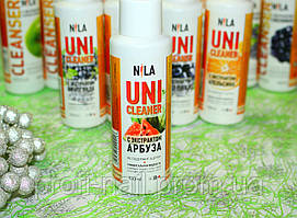 Жидкость для снятия гель-лака Nila Uni-Cleaner (арбуз) 100 мл.