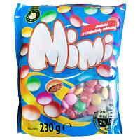 Mimi drazetki разноцветные шоколадные драже 230 г Польша