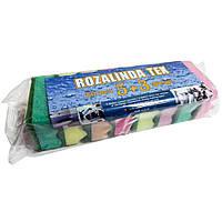 Губки кухонные Rozalinda TEX 5+3шт.