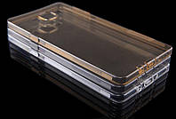 Накладка для Samsung A700H Galaxy A7 силикон Nillkin Nature TPU коричневый