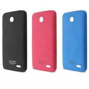 Накладка для Samsung G530H/G531H Galaxy Grand Prime пластик IMAK Cowboy series голубой (+пленка)