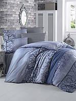 Комплект постельного белья 200х220 LIGHT HOUSE бязь голд OYKU синий