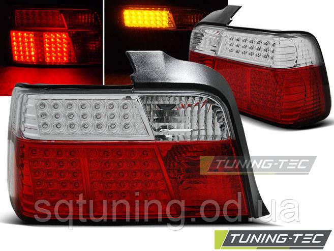 Задние фонари BMW E36 12.90-08.99 SEDAN RED WHITE LED