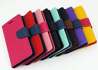 Чехол-Книжка для Samsung J105H Galaxy J1 mini Infinity BiColor Темно-синий