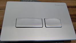 Панель слива IDEVIT (53-01-04-031) матовый хром