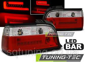Задние фонари BMW E36 12.90-08.99 RED WHITE BAR LED