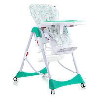 Детский стульчик для кормления Mioobaby Mosaic Green