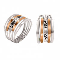 Серебряное кольцо с чернением