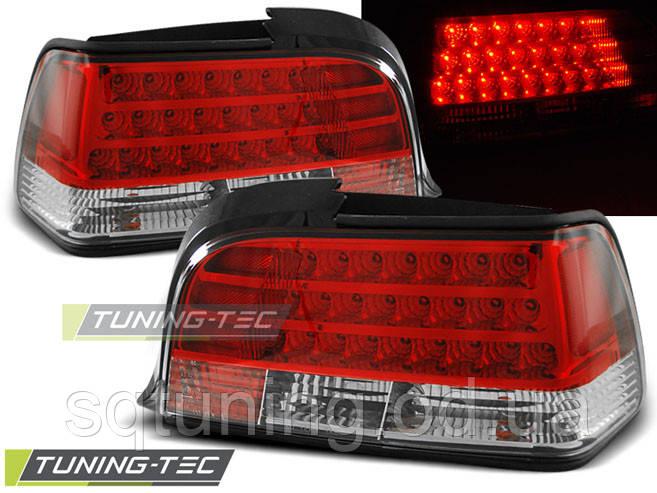 Задні ліхтарі BMW E36 12.90-08.99 RED WHITE LED