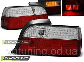 Задние фонари BMW E36 12.90-08.99 RED WHITE LED