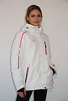 Женская горнолыжная куртка Azimuth 8122-105 белая код 720А